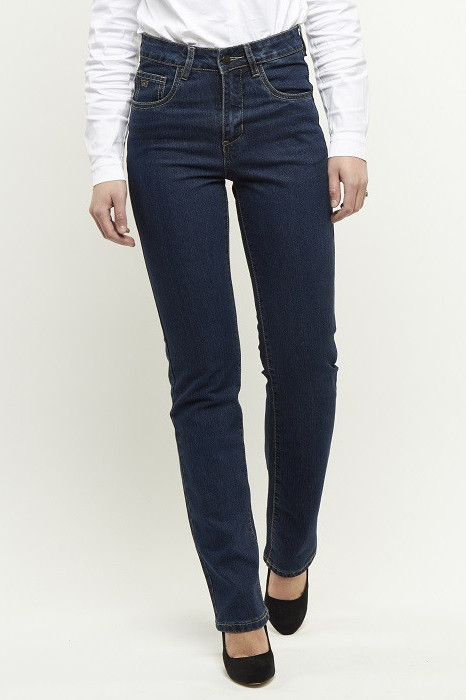 247 Jeans Dahlia S01 Medium blue stretch denim
