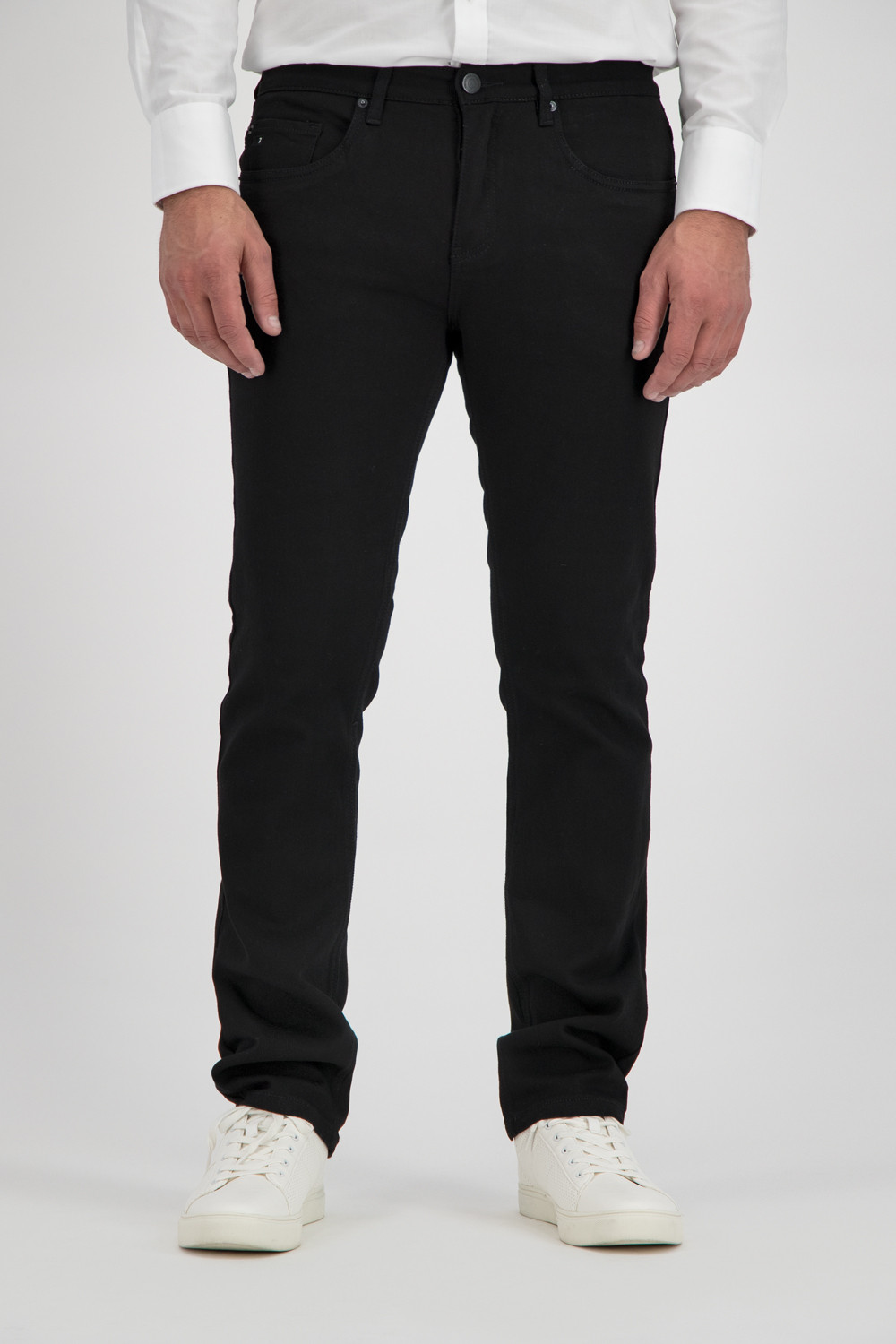 247 Jeans Palm T10 Black twill