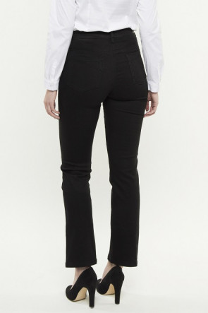 247 Jeans Dahlia T20 Black Twill Stretch Denim