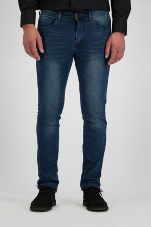 247 Jeans Palm Slim J04 Jog Denim Medium Blue